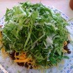 KING TACOS - タコライスチーズ野菜(600円)