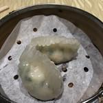 103640186 - ニラ蒸し餃子
