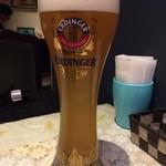 ドイツ料理 ピラミッド - エディンガー、軽かったです。