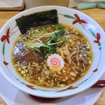 らーめん天神下 大喜 - 料理写真:らーめん天神下 大喜(醤油らーめん 780円)