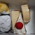 中島屋洋菓子店 - 購入したケーキ達