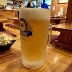 かんいち - キリンラガー生ビール(男前)