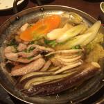 石井のお蕎麦 - 鴨鍋