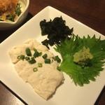石井のお蕎麦 - 湯葉の刺身