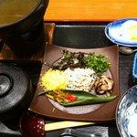 鯨石庵 - 鶏飯