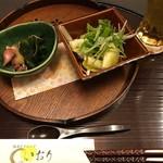 いおり - 料理写真:'19/03/13 <前菜>季節もの