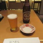 鎌倉 一茶庵 丸山 - ビール
