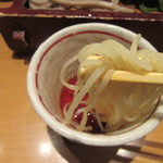 鎌倉 一茶庵 丸山 - 「柚子切り」