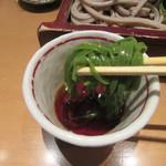 鎌倉 一茶庵 丸山 - 「茶そば」