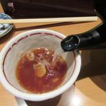 鎌倉 一茶庵 丸山 - 蕎麦湯は自然体