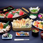 屋形船 あみ弁 - 【3月~11月】屋形船料理10,000円プラン