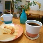 ニチニチコーヒー - 料理写真:コーヒーと発酵バターのスコーン