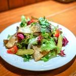 きっしゅや - ■鯖の燻製サラダ仕立て 950円