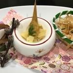 明徳  - 小鉢3種