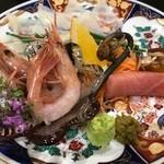 明徳  - 刺盛(食べかけ)