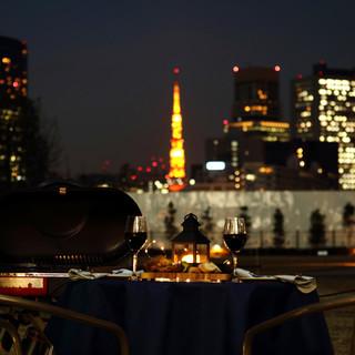 【BBQ】毎年人気のピクニックBBQ&夜のBBQスタート!