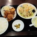 中国料理 晴華 - 日替わり(野菜炒め)定食700円