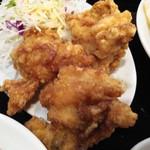 中国料理 晴華 - 唐揚げでかい