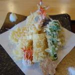 蕎麦処 みかわ - 天ぷら