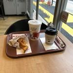 ケンタッキーフライドチキン - ランチF & ホットコーヒー(無料クーポン)