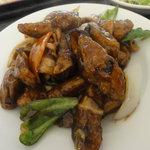 紅龍閣 - 豚肉と茄子のピリ辛味噌炒