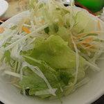 紅龍閣 - セットのサラダ