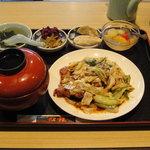 ホイコーロ定食【2011/11/1*】
