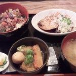10368883 - 十八番特製の煮魚定食(750円)