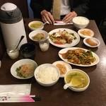 honkakushisenryourisantei - お料理の提供時間はわずか1~2分。早い!早すぎる~!