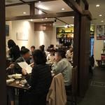 honkakushisenryourisantei - 【店内】お店を出る時に撮ったものです。(時間は12:22)