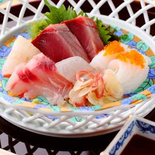 【歓送迎会や接待に】獲れたて鮮魚を味わえるコース5000円~