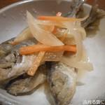 オサカナヤ魚魚権 - 豆あじの南蛮漬け