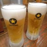 オサカナヤ魚魚権 - サッポロ生ビール
