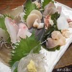オサカナヤ魚魚権 - お刺身盛り合せ 七点盛り