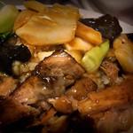 香楽 - 東坡飯(トンポハン):900円 (たまごスープ+お新香付)