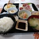 はかたや中村鮮魚店 - 料理写真:さしみ定食