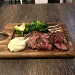 eroumayasaitonikubarukambi-fu - 特撰ステーキ。 美味し。