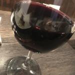 普段着ワイン酒場GETABAKI - 赤ワイングラス