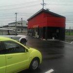三条望月家 - 駐車場からお店の遠景