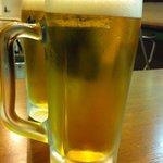 浜とん - 生ビール(中)