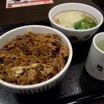 10370617 - 和風牛丼+小うどん