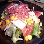 いちろ - カマンベールチーズとトマトのサラダ(ハーフ)