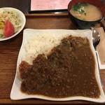 ニュースカフェ - 【カツカレー】¥850
