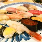 ふじ鮨 すすきの店 - 料理写真:北海道近海握り 4,980円