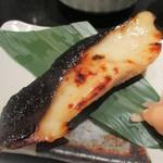 鈴波 - 銀だら定食 1,700円(税別)の 銀鱈の味淋粕漬。      2019.03.13