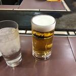 甘辛や - 生ビール