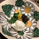 旬魚季菜 一滴 - 菜花辛しチーズ
