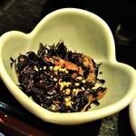釣船茶屋 ざうお - [料理] ひじきの煮物 アップ♪w ①
