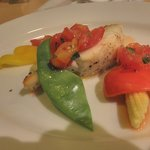 ピッツェリア ナオ - 鯛の香草焼き
