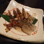 禅紫 - 鯛と車海老と竹の子のしゃぶしゃぶ